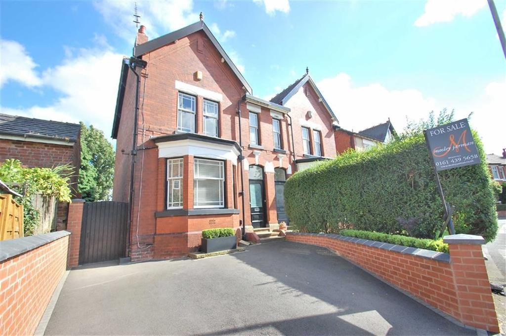 4 Bedrooms Semi Detached House for sale in Woodsmoor Lane, Woodsmoor, Cheshire