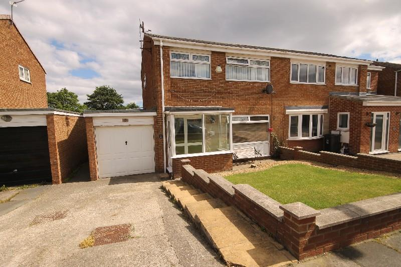 3 Bedrooms Semi Detached House for sale in Formby Close, Hartlepool