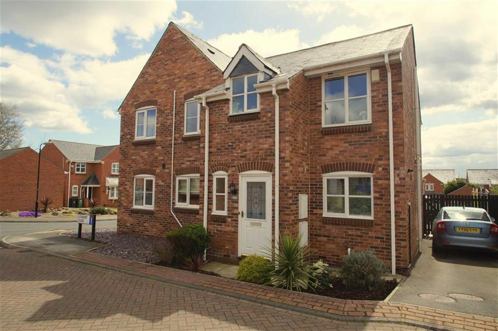 2 Bedrooms Semi Detached House for sale in Stewart Close, Leeds