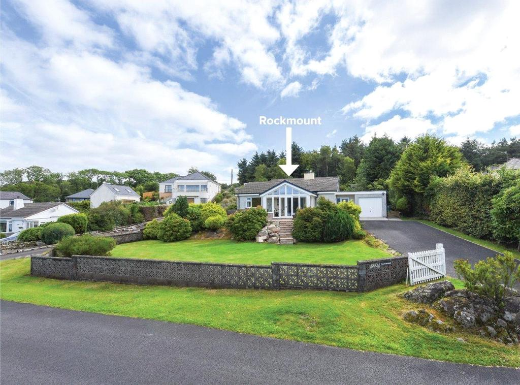 2 Bedrooms Detached Bungalow for sale in Rockmount, Merse Way, Kippford, Dalbeattie, DG5