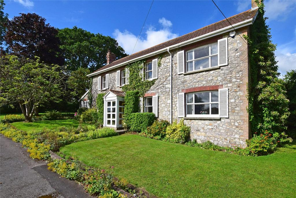 4 Bedrooms Detached House for sale in Whitford Road, Kilmington, Nr Axminster, Devon.