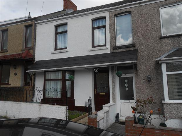 2 Bedrooms Terraced House for sale in Alice Street, Cwmdu, Swansea, SA5 8HB