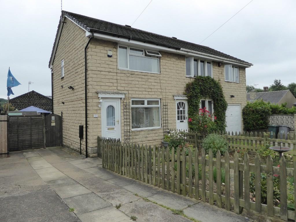 2 Bedrooms Semi Detached House for sale in Summerbridge Close, Batley