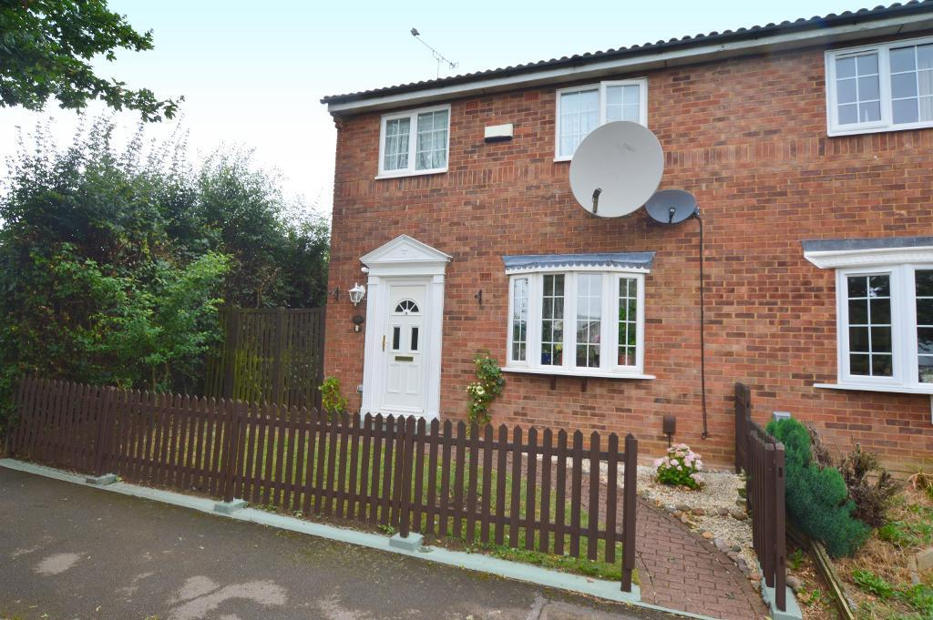 3 Bedrooms Semi Detached House for sale in Barnston Close, Wigmore, Luton, LU2 9RZ