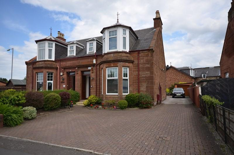 4 Bedrooms Semi Detached House for sale in 27 Castlehill Road, Ayr KA7 2HY