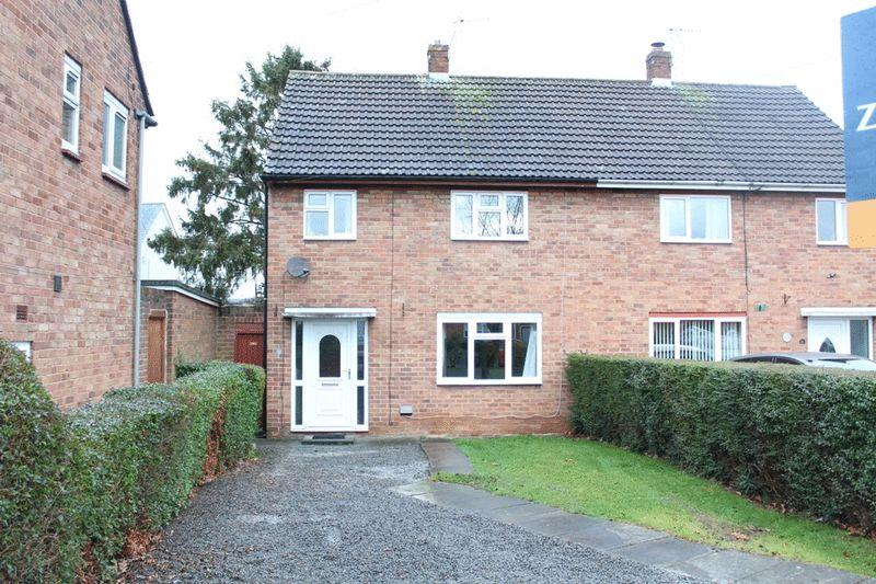 3 Bedrooms Semi Detached House for sale in Field Crescent, Sundorne, Shrewsbury, SY1 4PD
