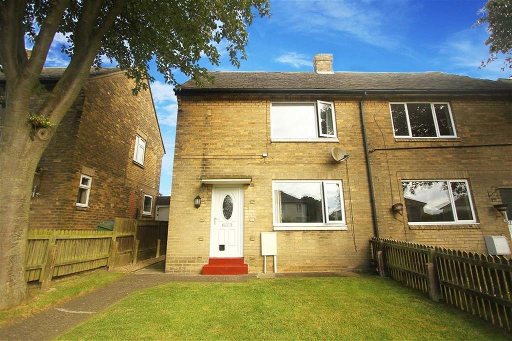 2 Bedrooms Semi Detached House for sale in The Close, Seghill, Northumberland