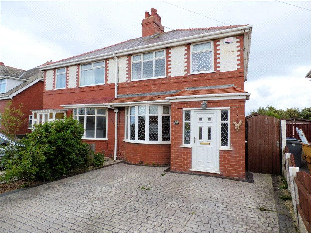 3 Bedrooms Semi Detached House for sale in Norbreck Road, Norbreck, Thornton Cleveleys