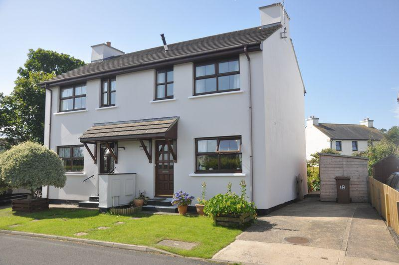 2 Bedrooms Semi Detached House for sale in Little Meddow, Andreas