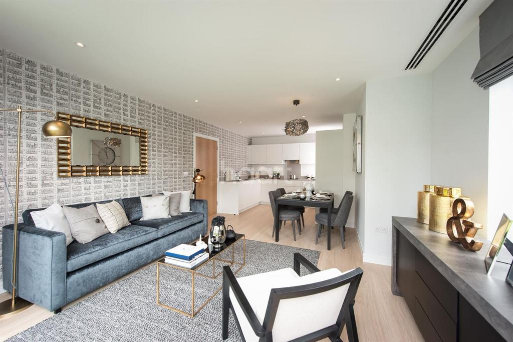 3 Bedrooms Flat for sale in Apartment A - Croydon