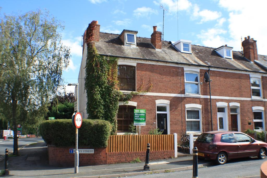 4 Bedrooms End Of Terrace House for sale in Foley Street, Foley Street, Hereford, HR1