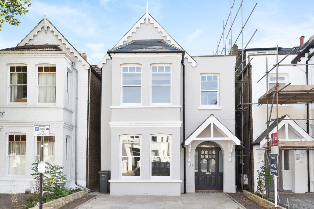 4 Bedrooms Semi Detached House for sale in Wellesley Road, Chiswick, W4