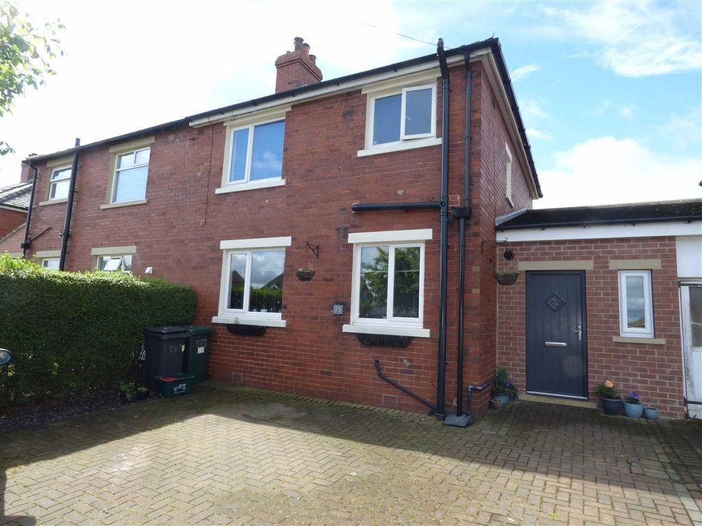 3 Bedrooms Semi Detached House for sale in Westerley Lane, Shelley, Huddersfield, HD8