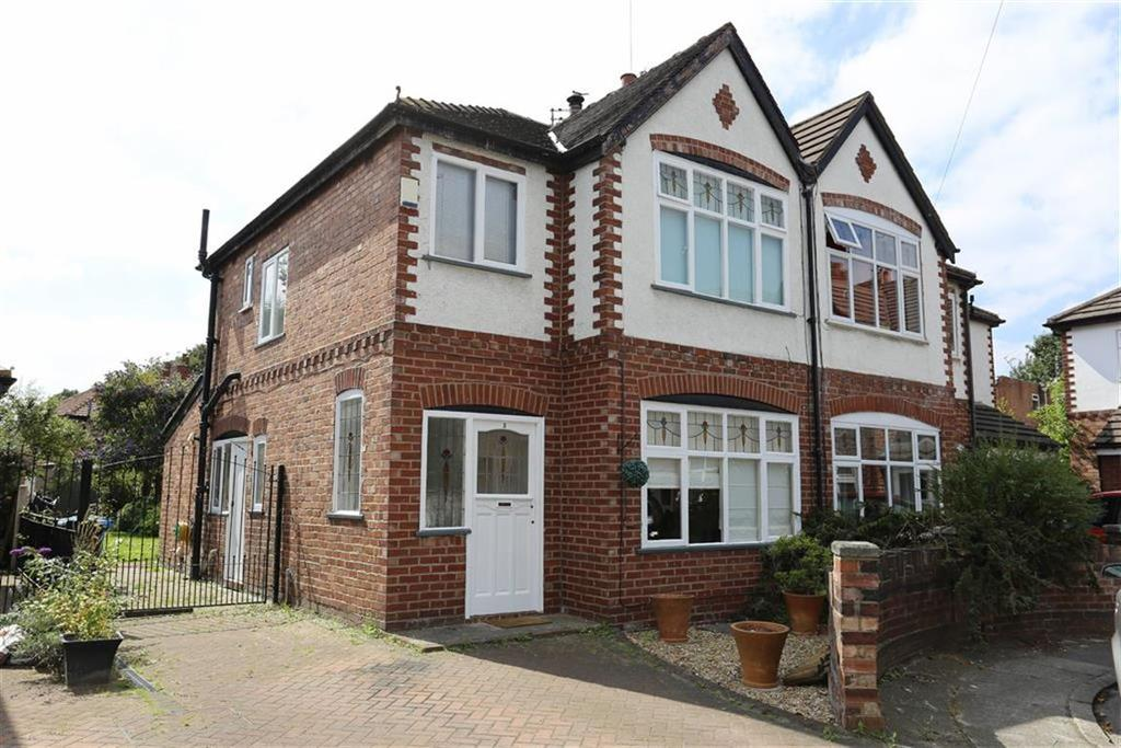 3 Bedrooms Semi Detached House for sale in Merlyn Avenue, Didsbury, Manchester
