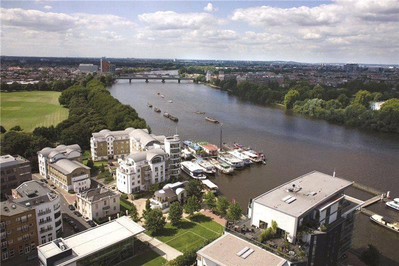 2 Bedrooms Penthouse Flat for sale in Riverside Quarter, Wandsworth, London, SW18