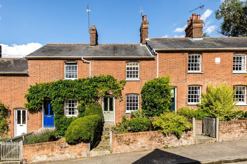 2 Bedrooms Terraced House for sale in Church Hill Cottages, Kersey, Ipswich, Suffolk, IP7