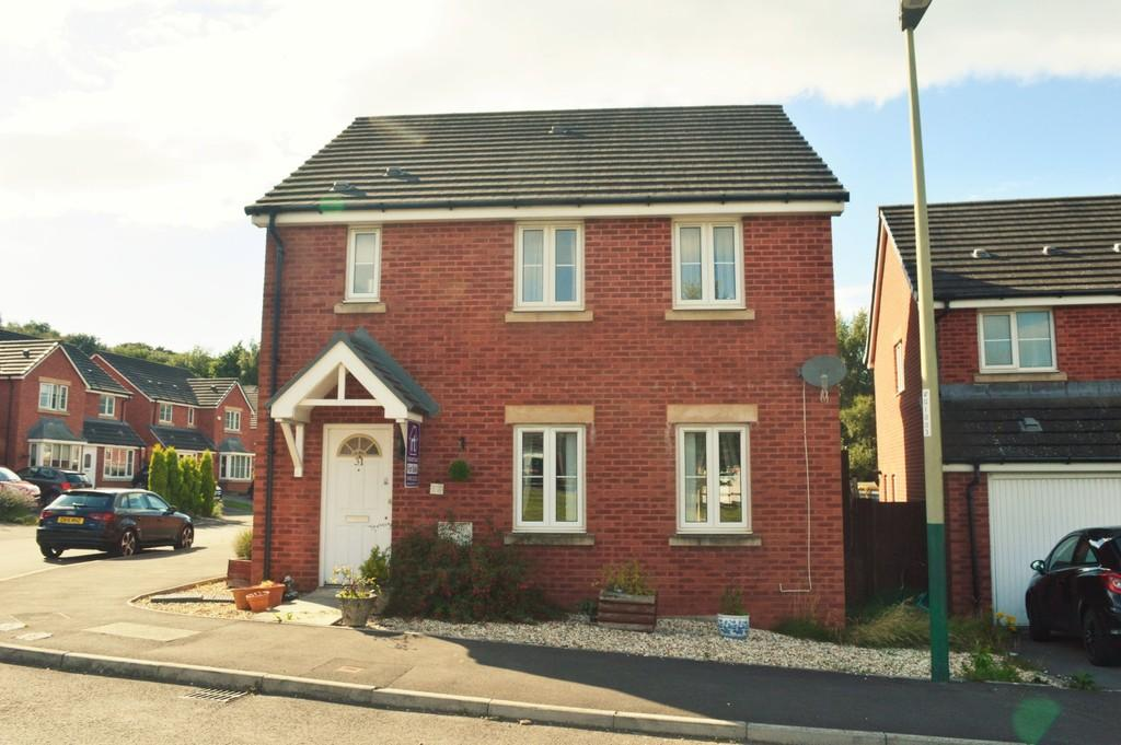 4 Bedrooms Detached House for sale in Farm Close, Tir-Y-Berth