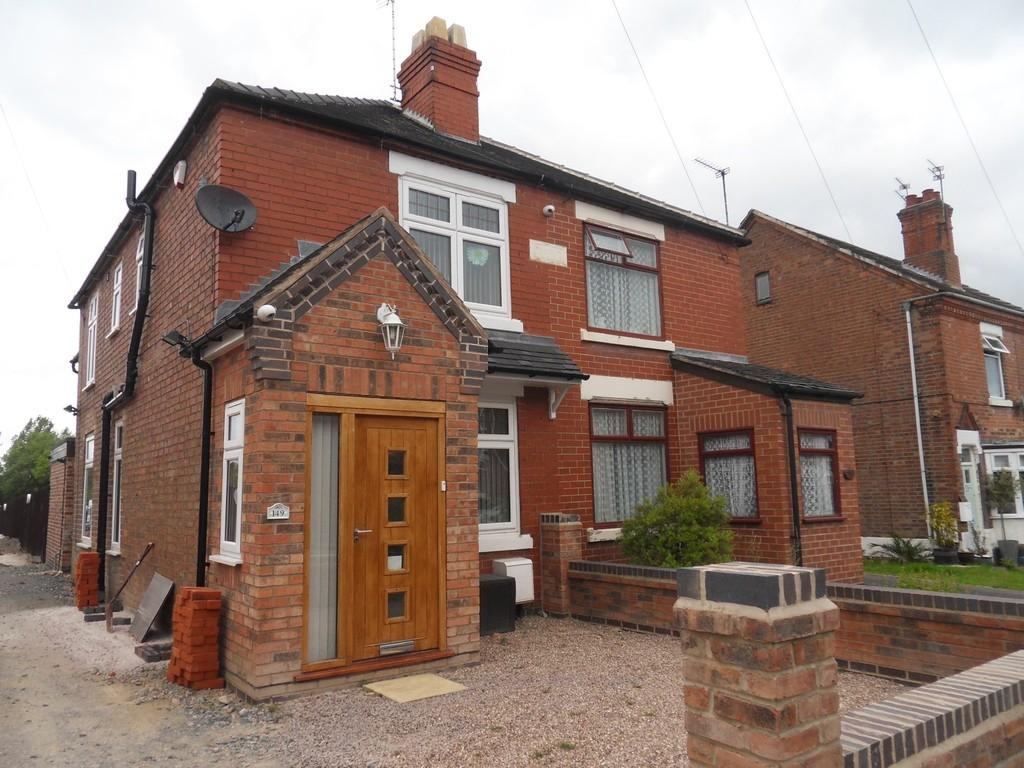 3 Bedrooms Semi Detached House for sale in Woodville Road, Overseal