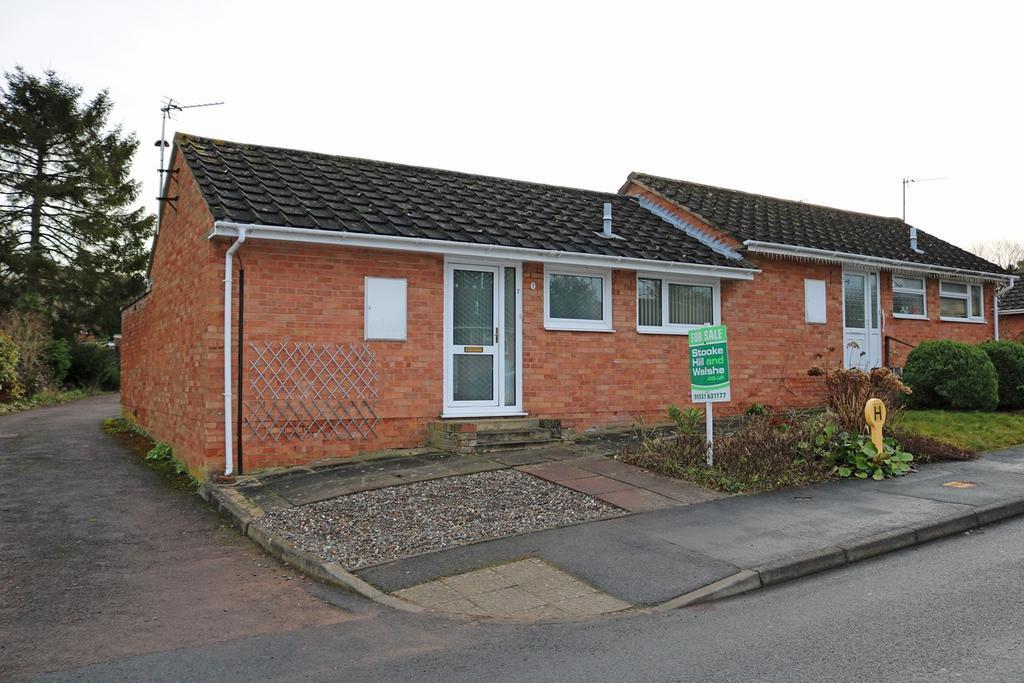 2 Bedrooms Semi Detached Bungalow for sale in Queens Court, Ledbury, HR8
