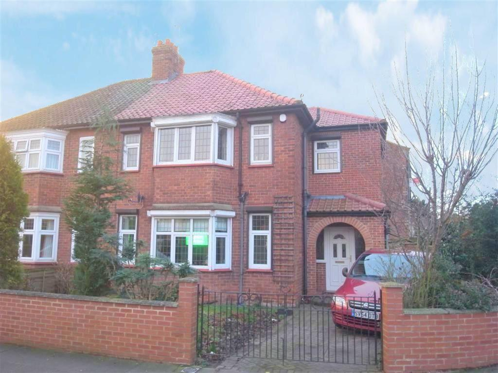 4 Bedrooms Semi Detached House for sale in Flora Avenue, Darlington