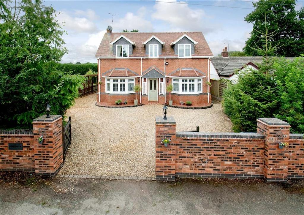 4 Bedrooms Detached House for sale in Bellbrook, Bellhurst Lane, Wheaton Aston, Stafford, South Staffordshire, ST19