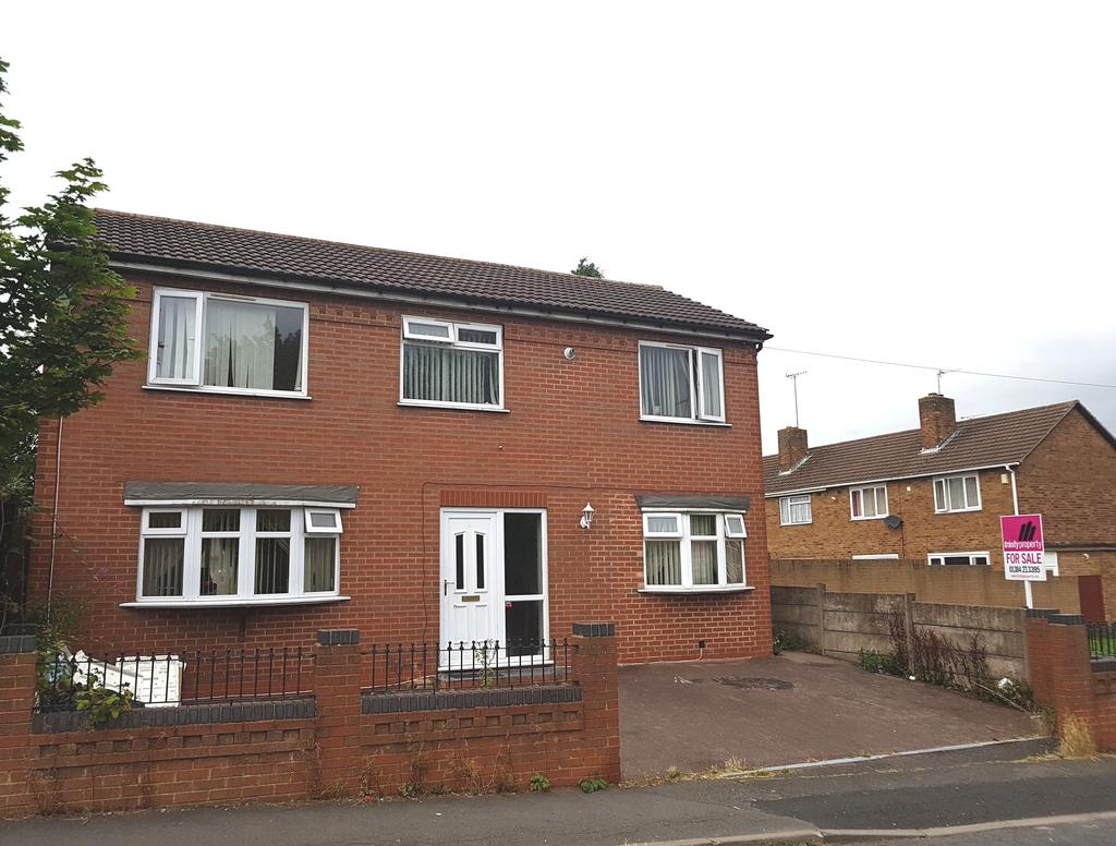 4 Bedrooms Detached House for sale in Oak Green, Dudley, DY1