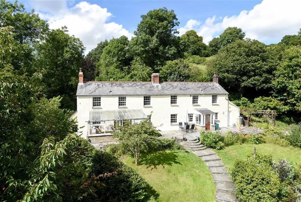 4 Bedrooms Detached House for sale in Herodsfoot, Liskeard, Cornwall, PL14
