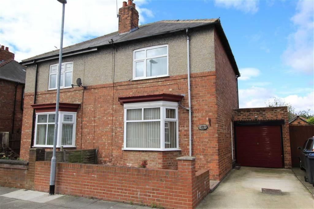 2 Bedrooms Semi Detached House for sale in Alwyn Road, Darlington