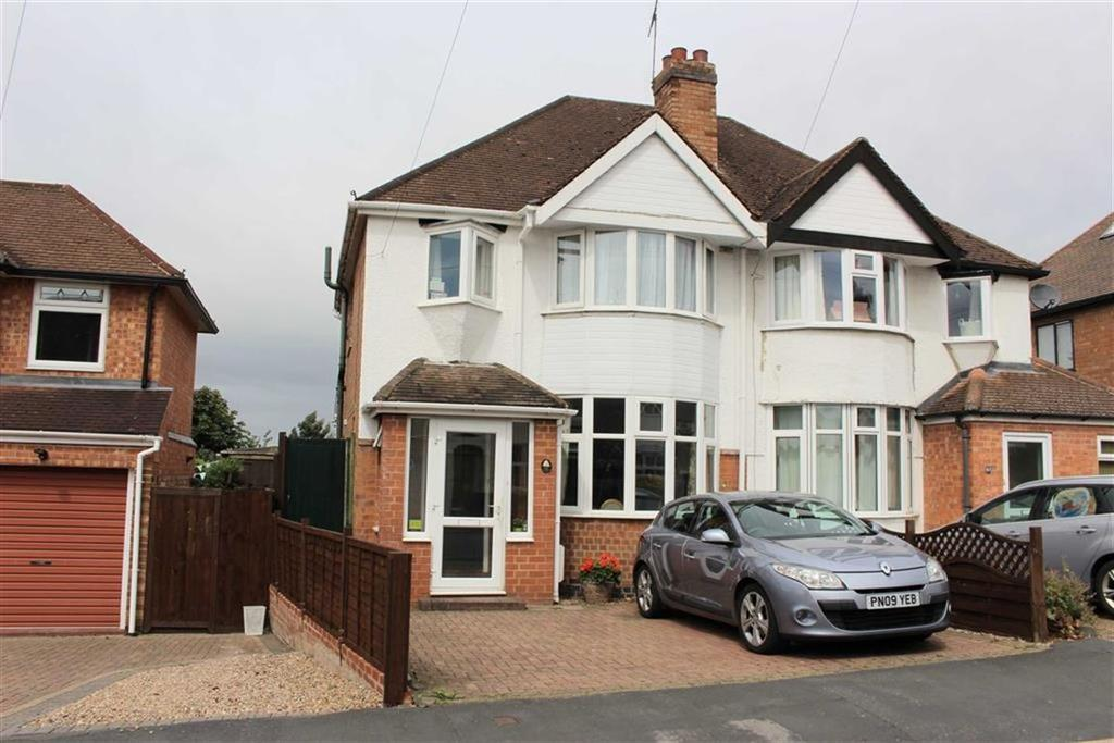 3 Bedrooms Semi Detached House for sale in Kinross Road, Lillington, Leamington Spa, CV32
