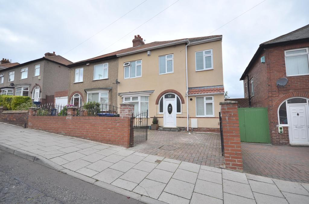 4 Bedrooms Semi Detached House for sale in Fenham