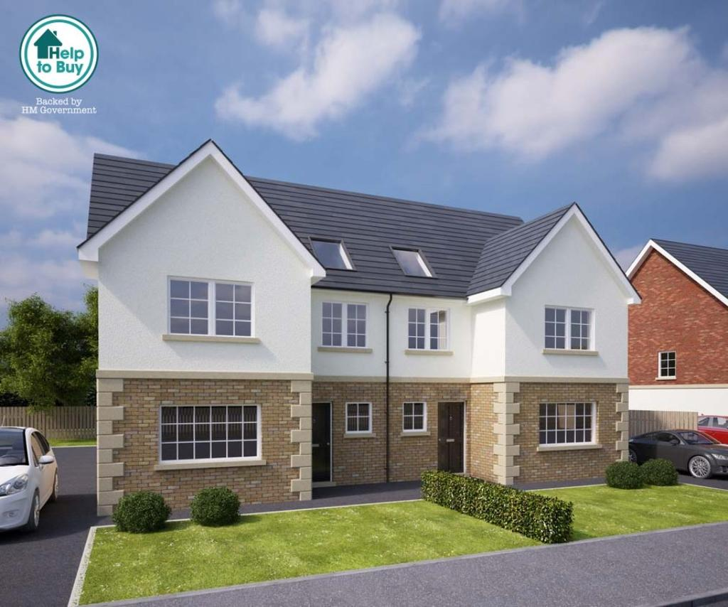 4 Bedrooms Town House for sale in Cairn Manor, Cairn Road, Cumnock, Ayrshire, KA18 1HN