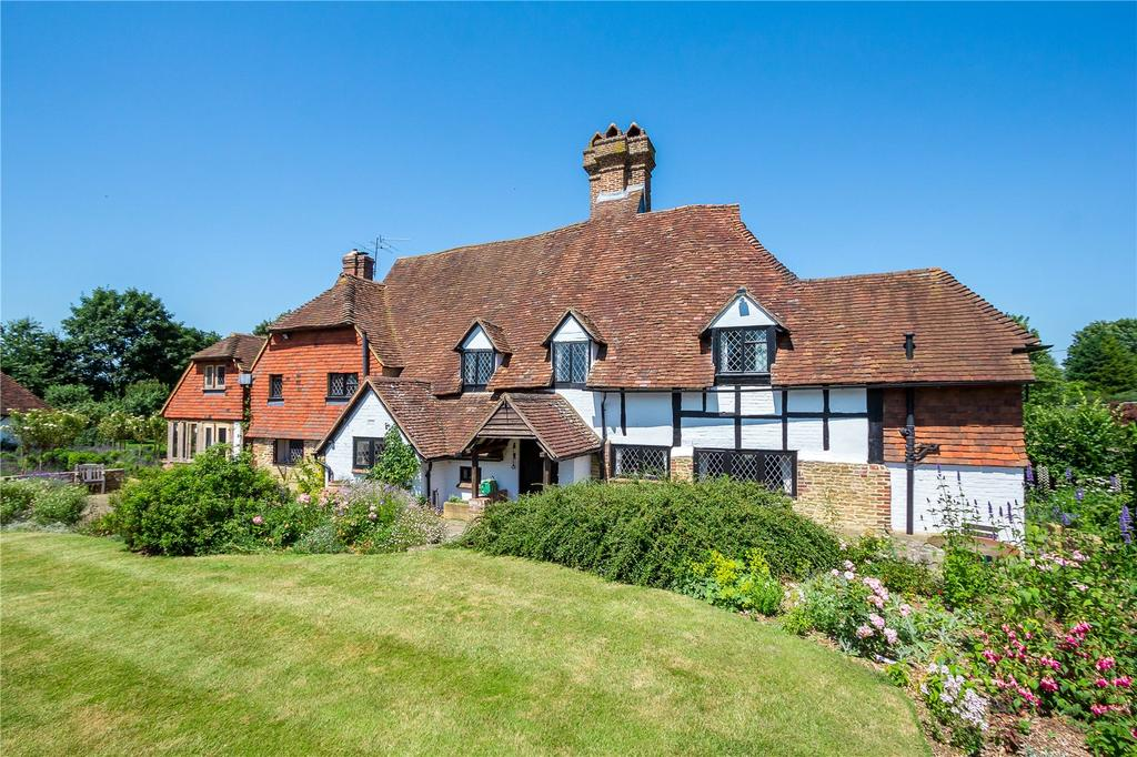5 Bedrooms Detached House for sale in Eashing Lane, Godalming, Surrey