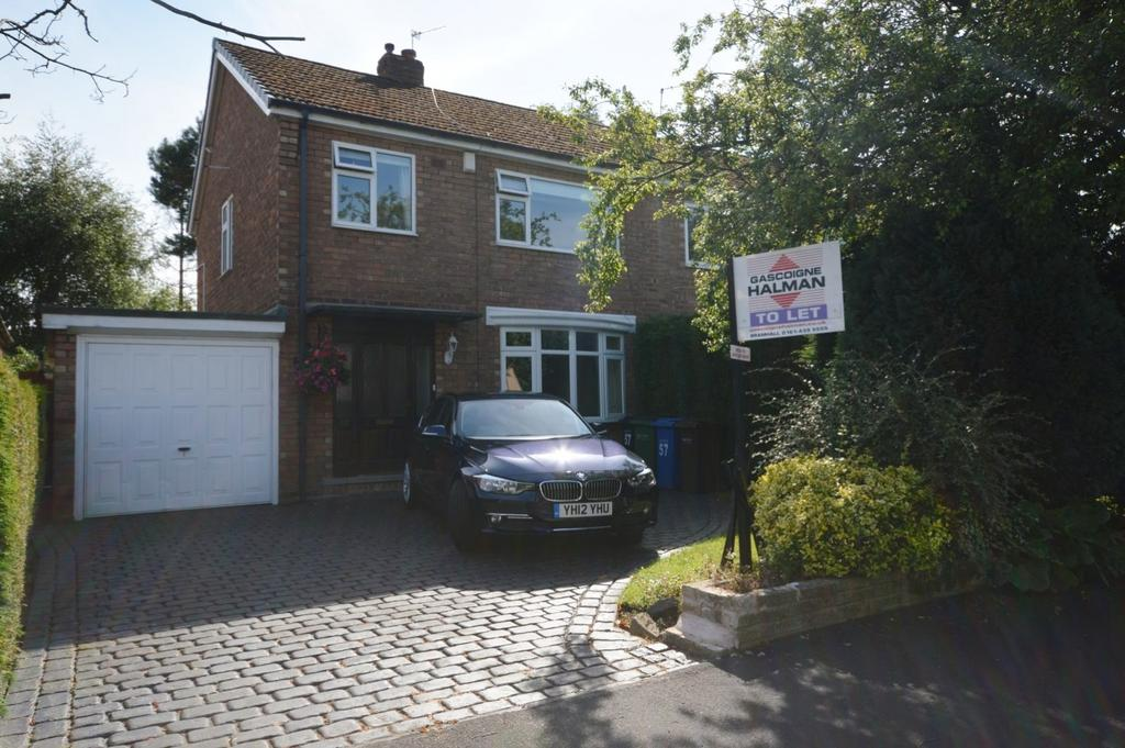 3 Bedrooms Semi Detached House for rent in Thornway, Bramhall