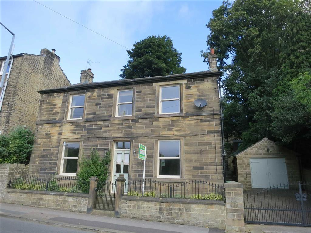4 Bedrooms Detached House for sale in Woodhead Road, Holmbridge, Holmfirth, HD9