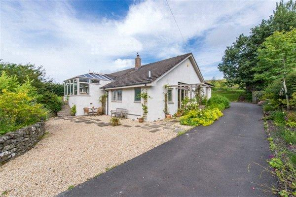 4 Bedrooms Detached Bungalow for sale in Burnside, Midlem, Selkirk, Scottish Borders, TD7