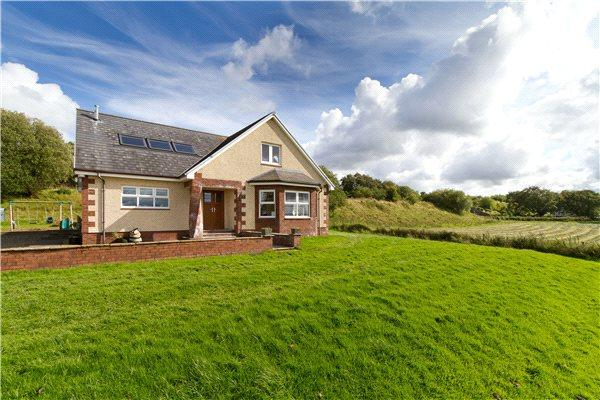 5 Bedrooms Detached House for sale in Laigh Muir, Sinclairston, By Ochiltree, East Ayrshire, KA18