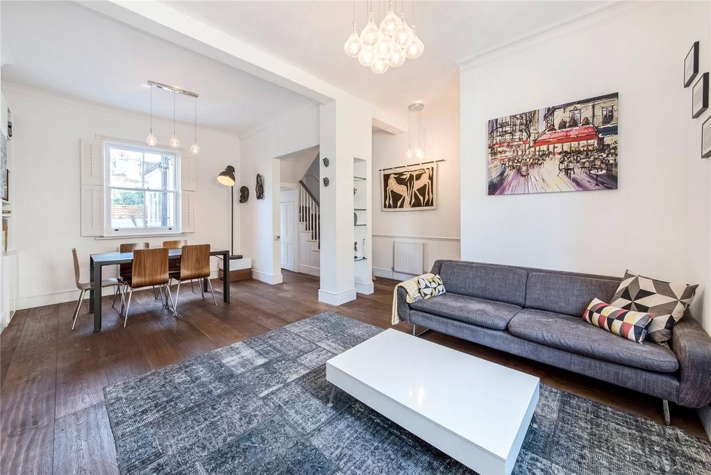 4 Bedrooms Semi Detached House for sale in Wadham Road, Putney, London