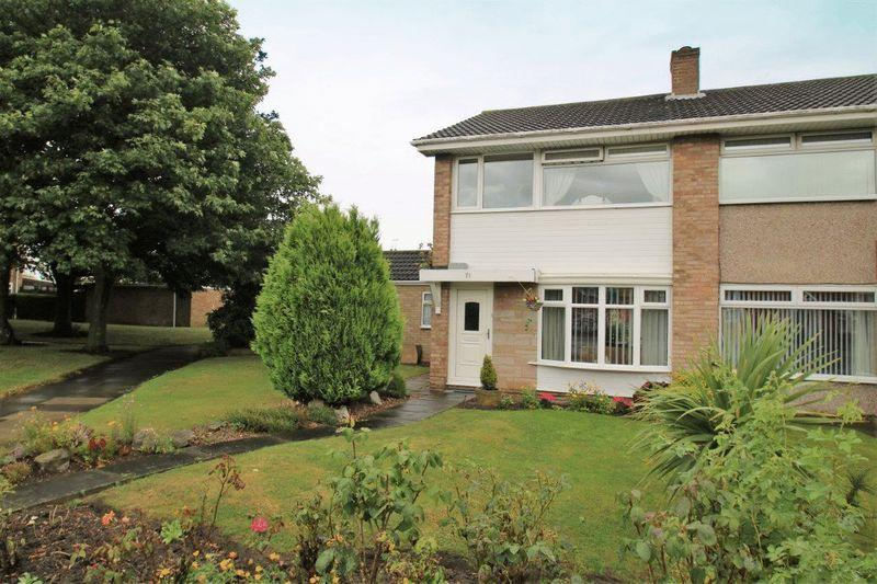 3 Bedrooms Semi Detached House for sale in Mitchell Avenue, Thornaby, Stockton, TS17 9DH