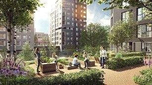 2 Bedrooms Flat for sale in Elephant Park, Elephant Castle, London
