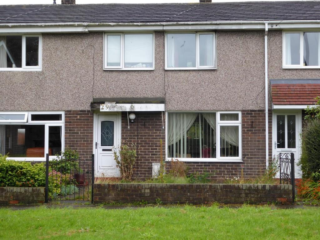 3 Bedrooms Terraced House for sale in Mile Road, Widdrington, Morpeth