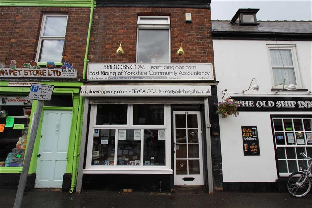 2 Bedrooms Terraced House for sale in St John Street, Bridlington, East Yorkshire, YO16