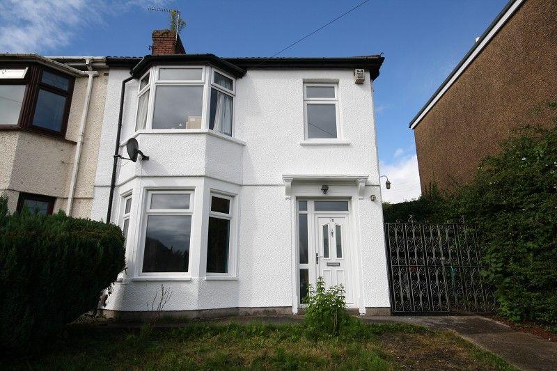 3 Bedrooms Semi Detached House for sale in Glasllwch Crescent, Newport, Newport. NP10 9SG