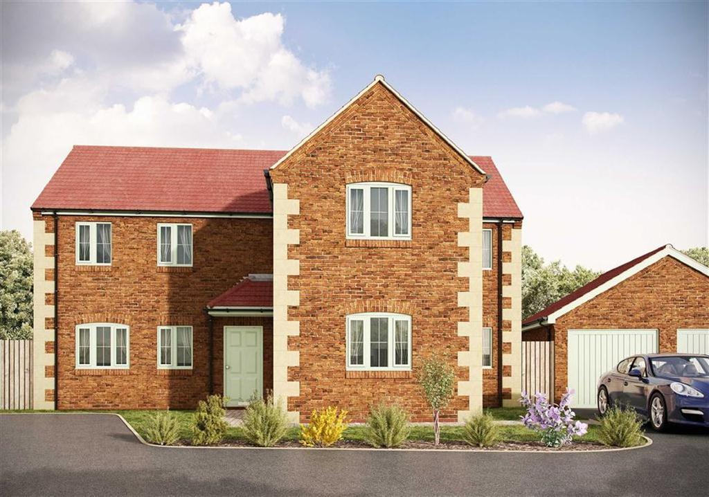 4 Bedrooms Detached House for sale in Plot A, Oak House Farm, Stanfree, Chesterfield, S44