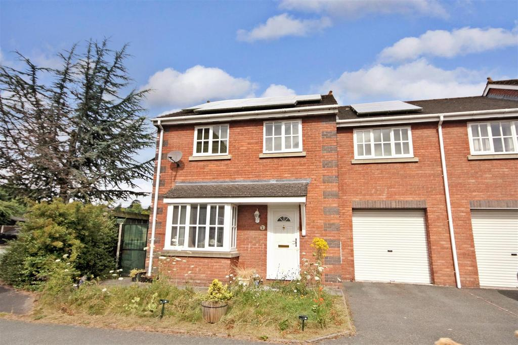 4 Bedrooms Semi Detached House for sale in Jemmett Close, Oswestry