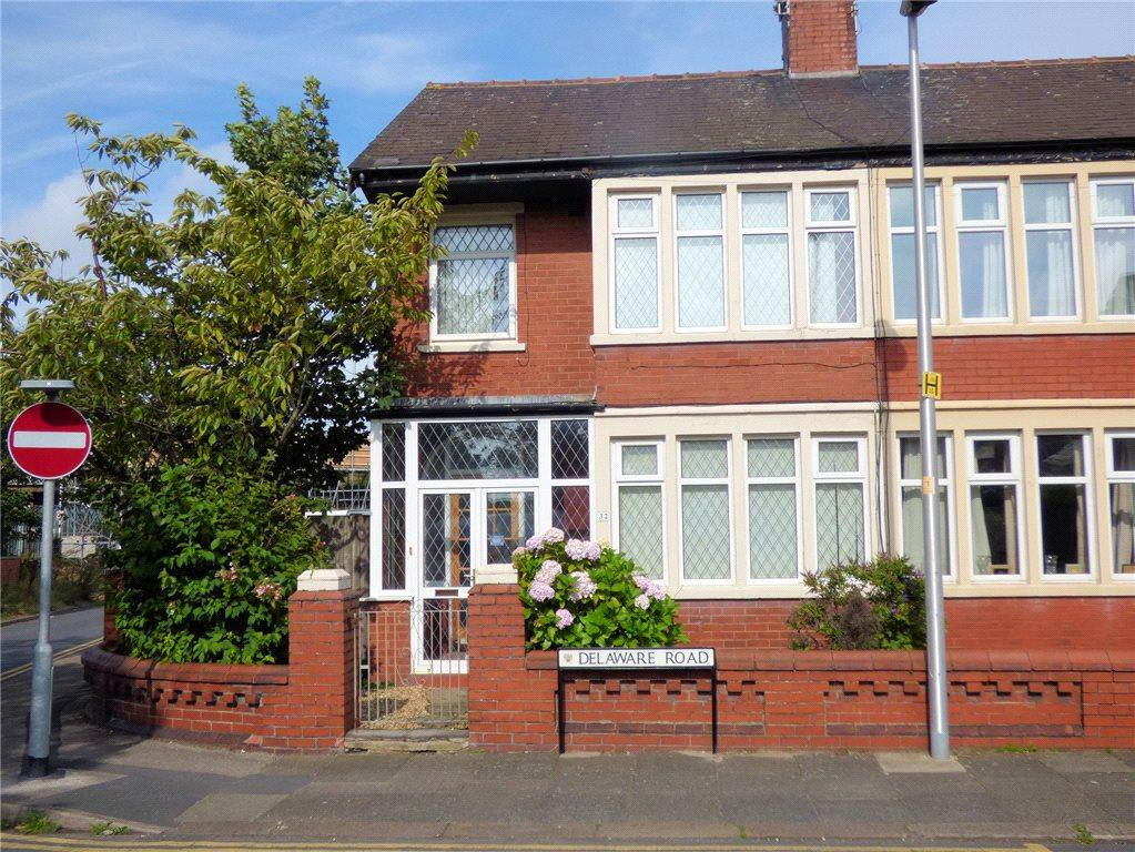 3 Bedrooms End Of Terrace House for sale in Delaware Road, Layton, Blackpool