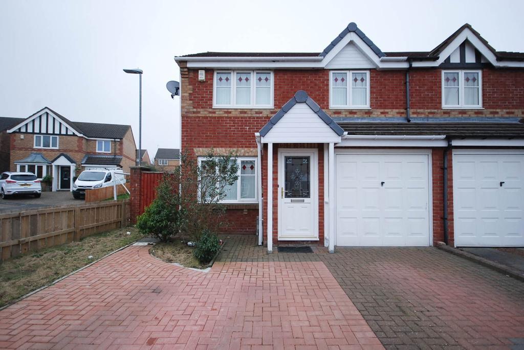 3 Bedrooms Semi Detached House for sale in Rannoch Close, Wardley