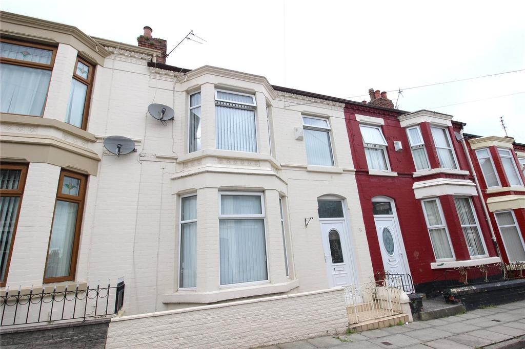 3 Bedrooms Terraced House for sale in Clovelly Road, Liverpool, Merseyside, L4