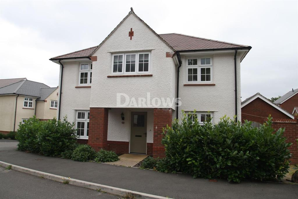 4 Bedrooms Detached House for sale in Parc Cwm Pant Bach, Heolgerrig