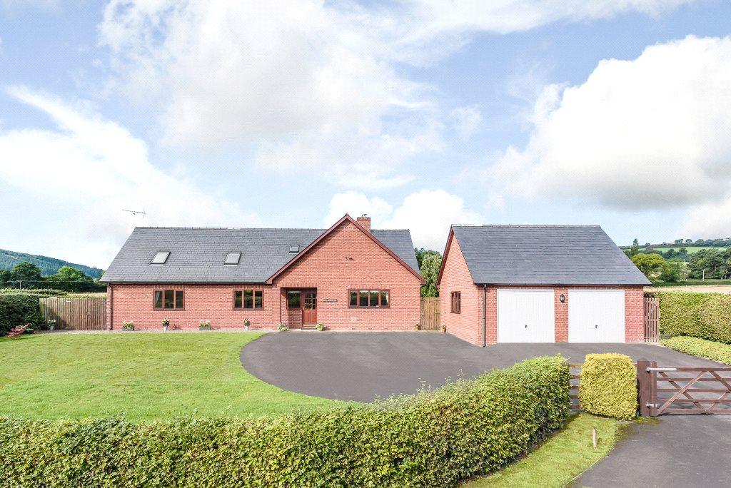5 Bedrooms Detached House for sale in Lingen, Bucknell, Shropshire