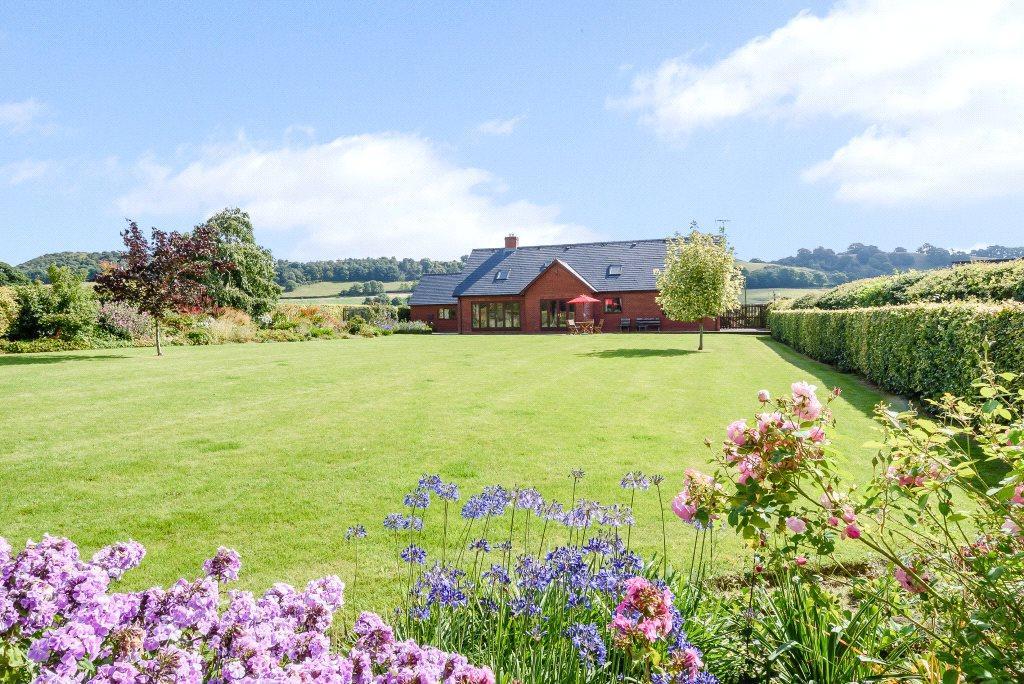 5 Bedrooms Detached House for sale in Lingen, Bucknell, Shropshire